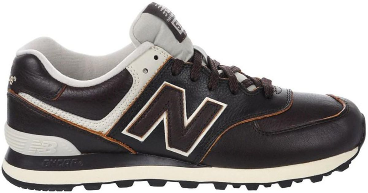 buy online 2dcc5 fb9d7 New Balance - Ml574lua Men's Shoes (trainers) In Brown for Men - Lyst