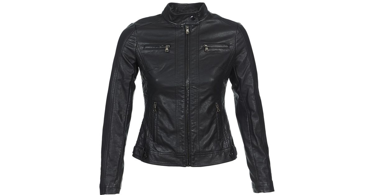 Moony Idescune 888888888888886 Leather Black Mood 13 Save Jacket Lyst In B1vqxB5wrp