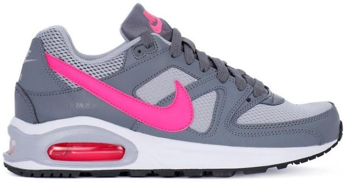 4adf64330a Nike Air Max Command Flex Gs Women's Shoes (trainers) In Grey in Gray - Lyst