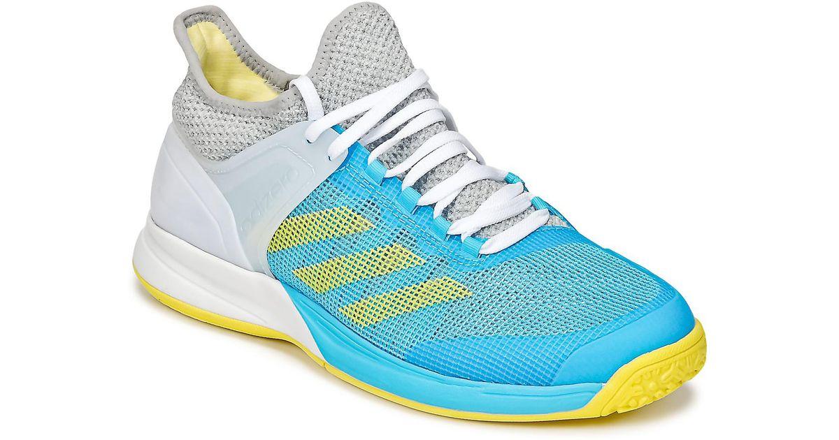 b35e2a2f7 adidas Adizero Ubersonic 2 Tennis Trainers (shoes) in Blue - Lyst