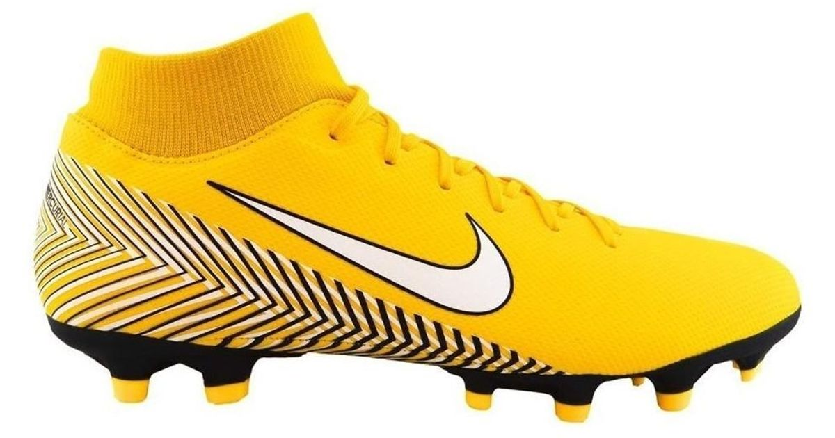 separation shoes 1596d f153d Nike Mercurial Superfly Academy Neymar Men s Football Boots In Yellow in  Yellow for Men - Lyst