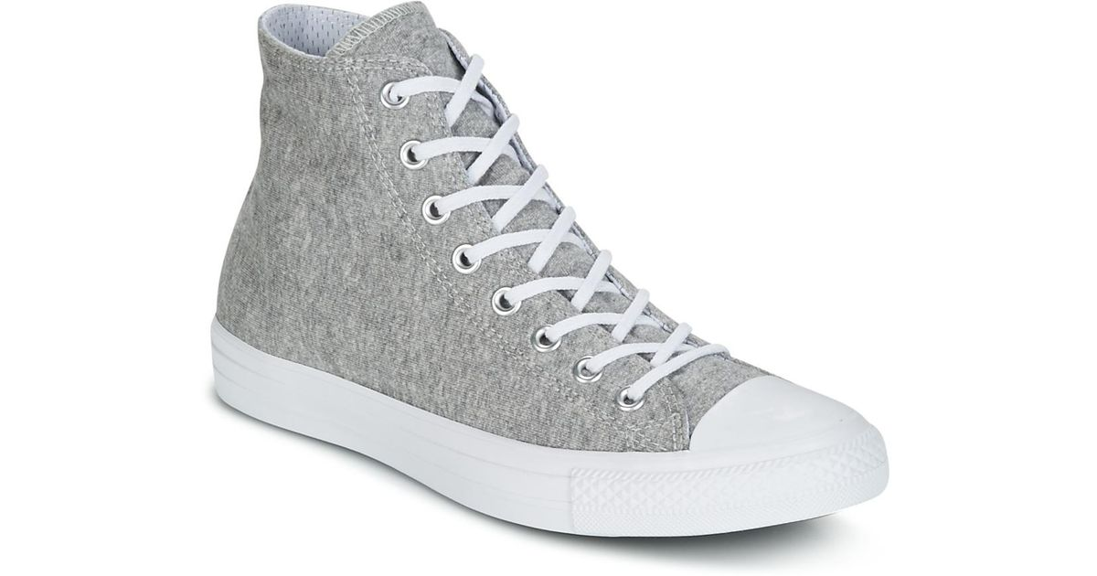 da87ff99fa5 Converse Chuck Taylor All Star Hi Essential Terry Men s Shoes (high-top  Trainers) In Grey in Gray for Men - Save 18% - Lyst