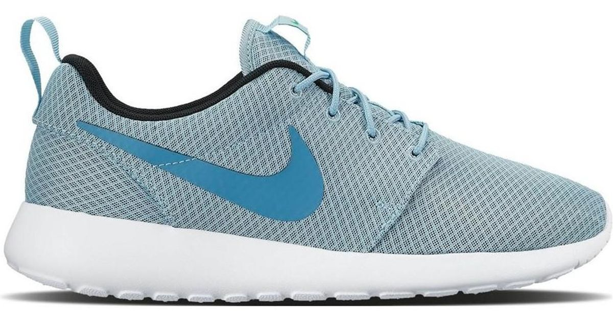 hot sale online 3596d 0a16e Nike Roshe One 511881 407 Women s Shoes (trainers) In Blue in Blue - Lyst
