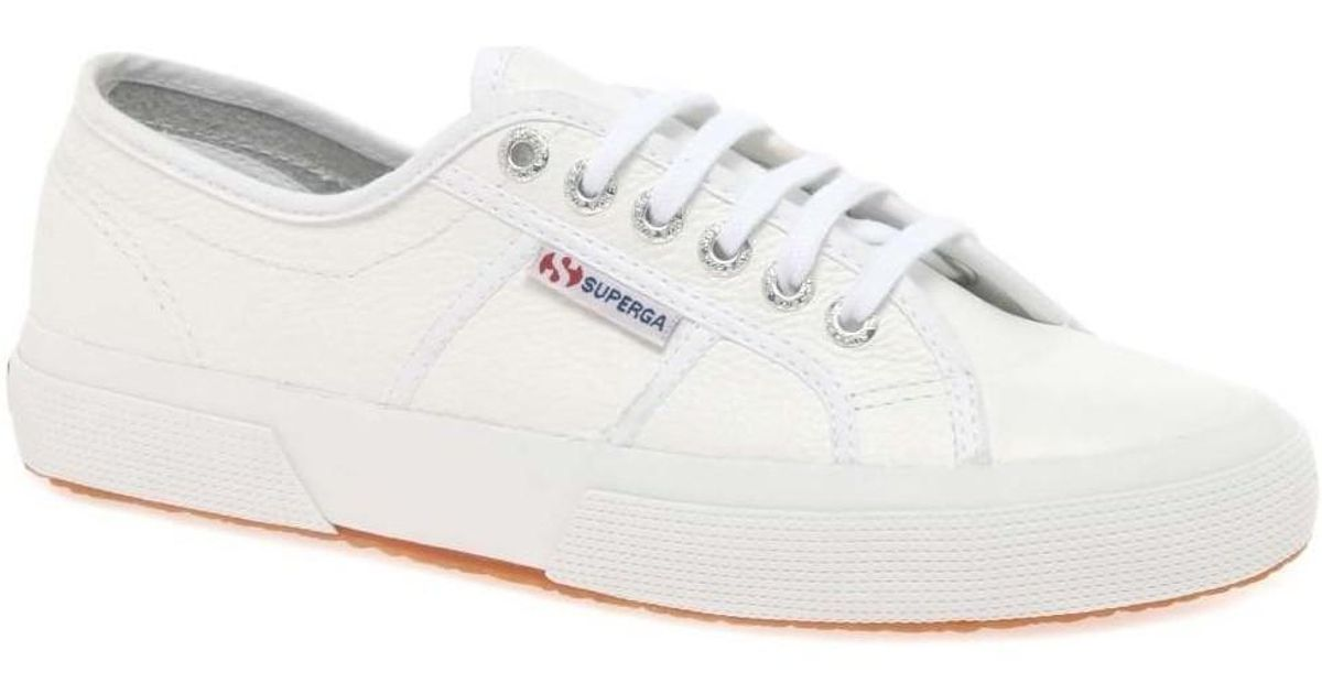 e5929f06dc2e52 superga-white-Cotu-Womens-Casual-Lace-Up-Shoes-Womens-Shoes-trainers-In- White.jpeg