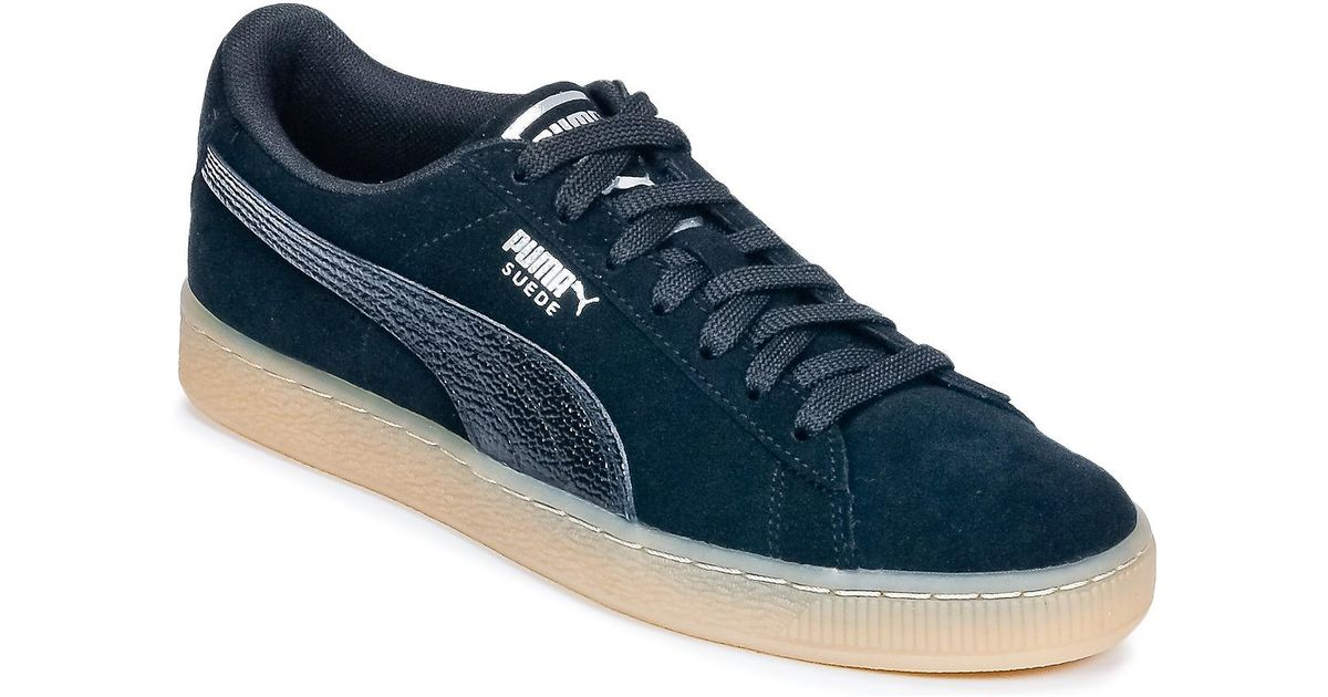 b49d9f948fed PUMA Suede Classic Bubble W s Women s Shoes (trainers) In Blue in Blue -  Lyst