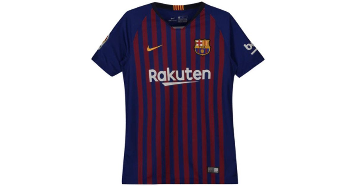 f6b064482 Nike 2018-2019 Barcelona Home Shirt (kids) Men s T Shirt In Red in Red for  Men - Lyst