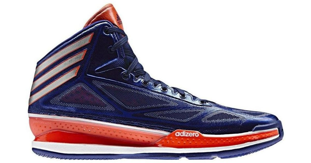 72dc6c6d56d adidas Adizero Crazy Light Men s Basketball Trainers (shoes) In Multicolour  in Blue for Men - Lyst