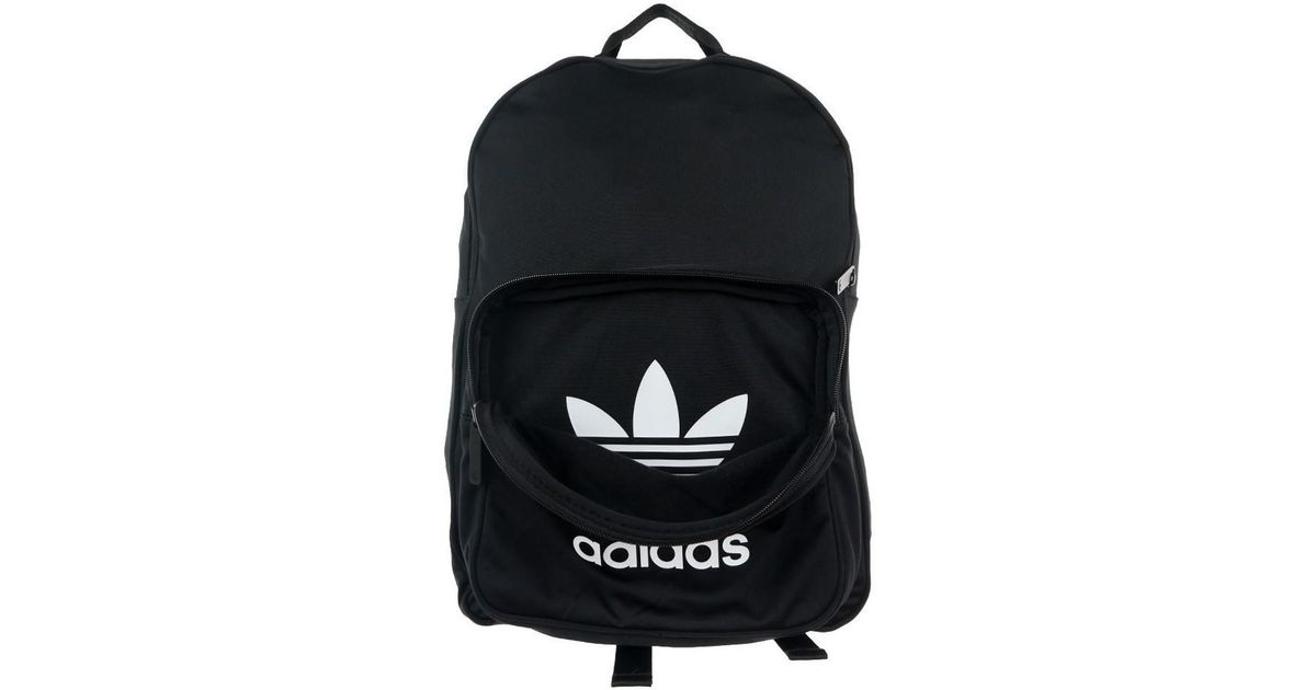 a74b19f04a11 Adidas Originals Classic Tricot Women s Backpack In Black in Black - Lyst