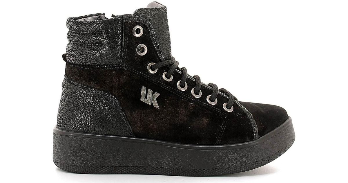 bb7373250c88 Lumberjack Sw18505 001 A11 Sneakers Women Black Women s Walking Boots In  Black in Black - Lyst