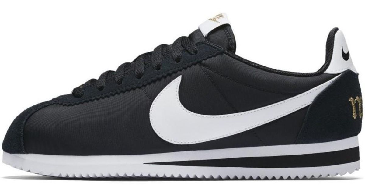 Nike Wmns Classic Cortez Prem Xlv Women s Shoes (trainers) In White in  White - Lyst ea322a13b