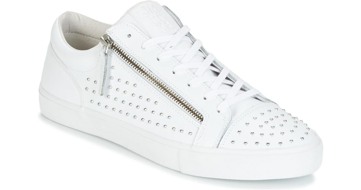 Lyst - Jim rickey Zed Studs Men's Shoes (trainers) In White in White for Men