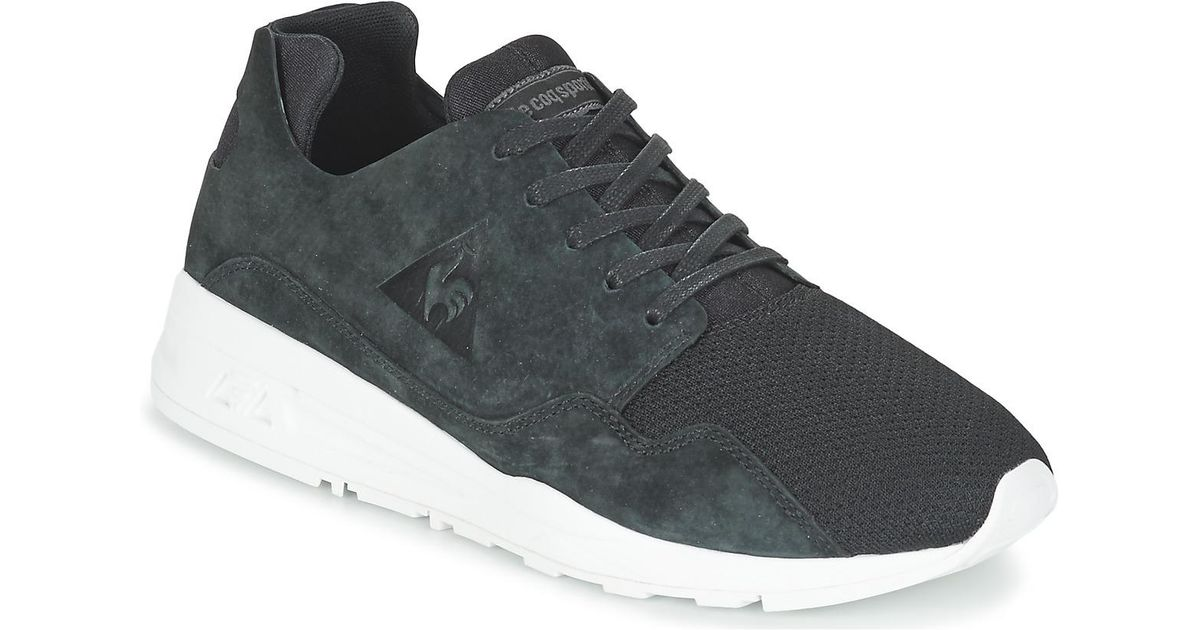9162dc997aaf Le Coq Sportif Lcs R Pure Mono Luxe Men s Shoes (trainers) In Black in  Black for Men - Lyst
