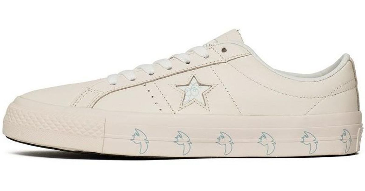 0424cf7bde7 Converse X Illegal Civilization One Star Pro Ox Men s Shoes (trainers) In  Beige in Natural for Men - Lyst