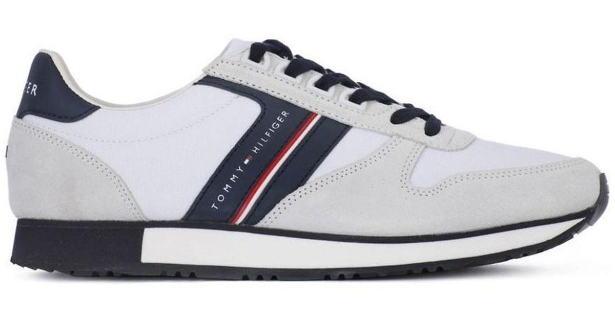d7a3e9bdff05c4 Iconic Mix hommes Chaussures en blanc Tommy Hilfiger pour homme en coloris  Blanc - Lyst