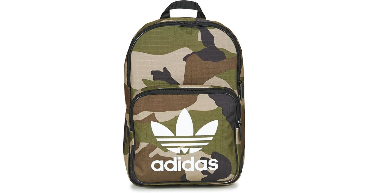 f902d8a91c adidas Bp Classic Camo Women s Backpack In Green in Green for Men - Lyst
