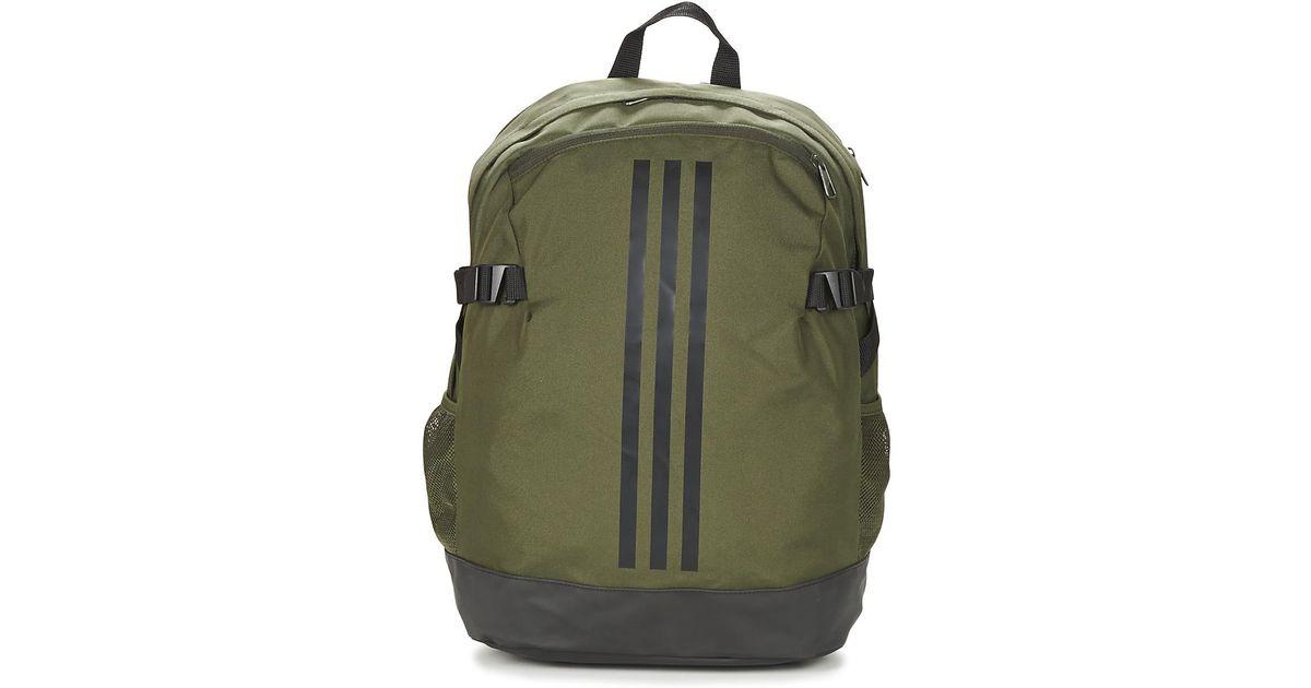 adidas Bp Power Iv Men s Backpack In Green in Green for Men - Lyst b9538af9ca