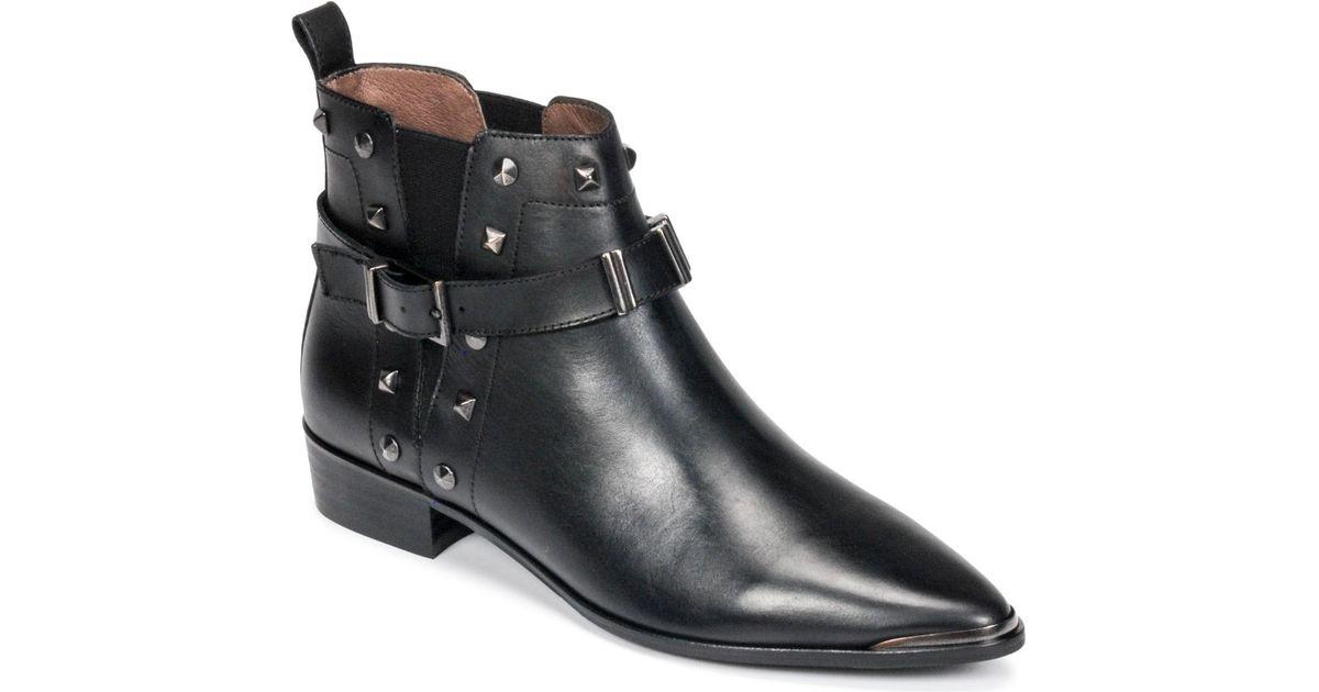 Noir Boots Ikks Lyst Black En Wrsxrxq Billy Femmes 1gwHxqdgU