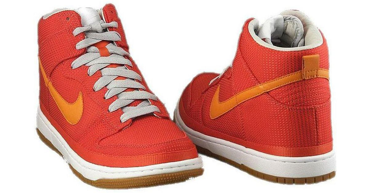 e75c7777d774 Nike Dunk High Supreme Women s Shoes (high-top Trainers) In Orange in  Orange - Lyst