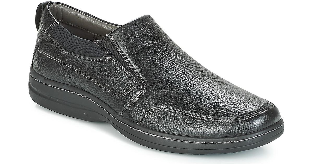 8342e4ce172 Hush Puppies Cobo Men s Loafers   Casual Shoes In Black in Black for Men -  Lyst