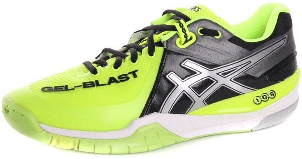 0a51f1ccde6bb Asics Gelblast 6 0793 Men s Indoor Sports Trainers (shoes) In Black in  Black for Men - Lyst