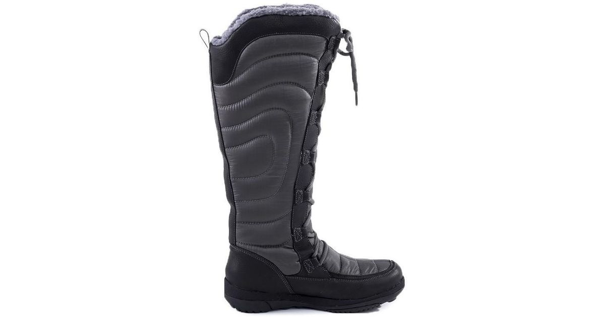 Timberland Crystal Mtn Tall Women s Snow Boots In Multicolour in Black -  Lyst 6146a93e8d26