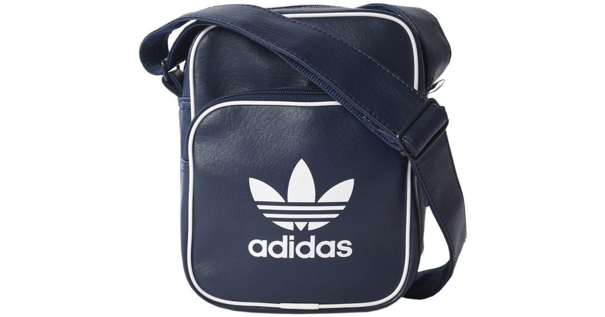 adidas Classic Bag Mini Men s Messenger Bag In Multicolour in Blue for Men  - Lyst