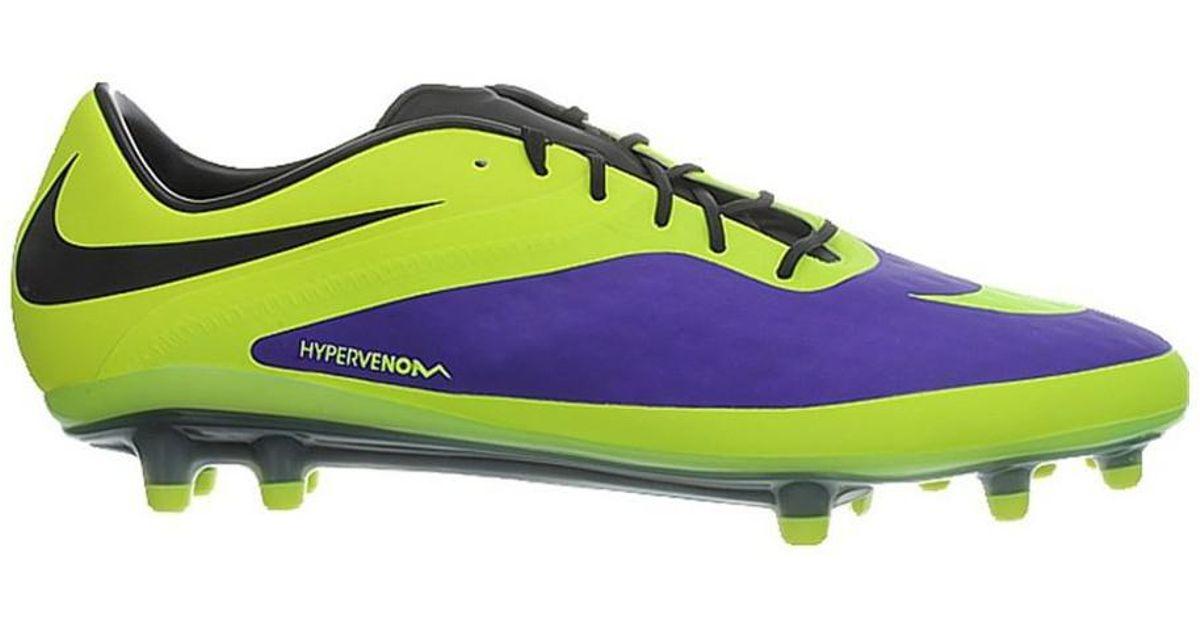 brand new 79477 9d232 Nike - Hypervenom Phatal Fg Men's Football Boots In Black for Men - Lyst