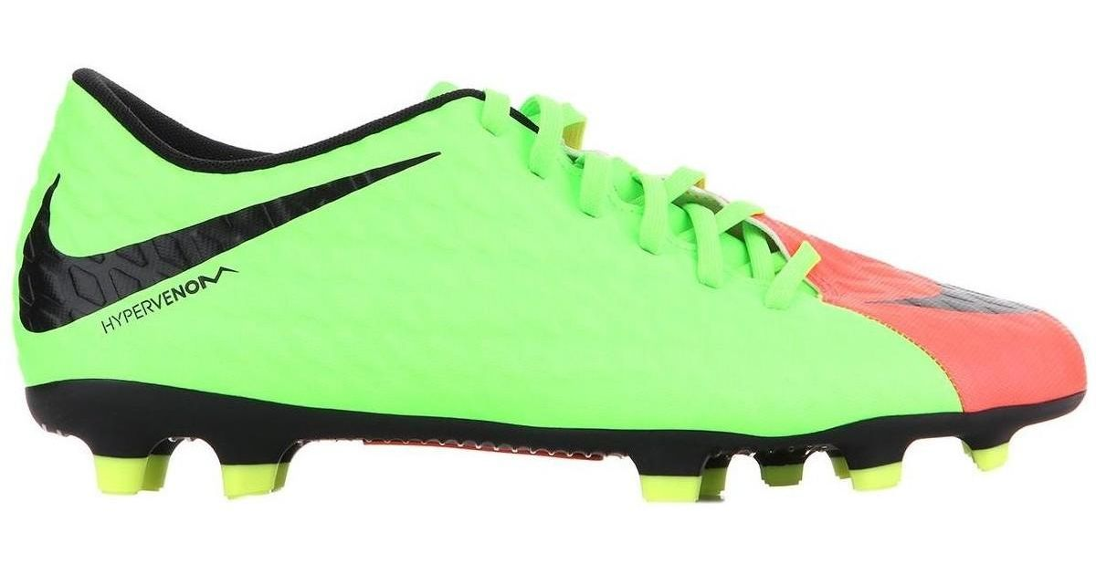 b798a18f3 Nike Hypervenom Phade Iii Fg 852547-308 Men's Football Boots In Multicolour  in Green for Men - Lyst