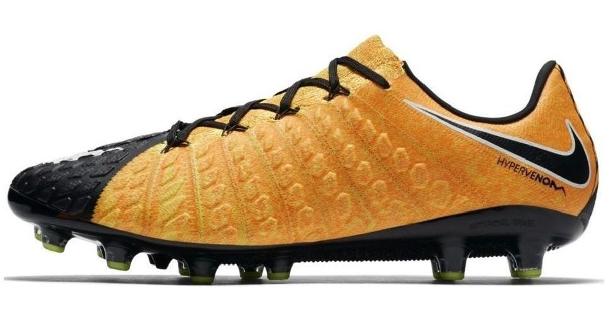 458cf12aa3aa Nike Hypervenom Phantom Iii Ag Pro Men s Football Boots In Orange in Orange  for Men - Lyst