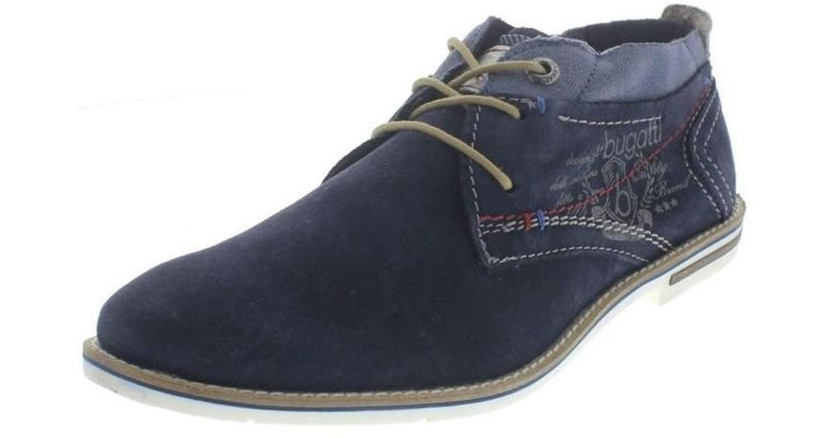 f0cda7393cba Bugatti 31111113 Men s Mid Boots In Multicolour in Blue for Men - Lyst