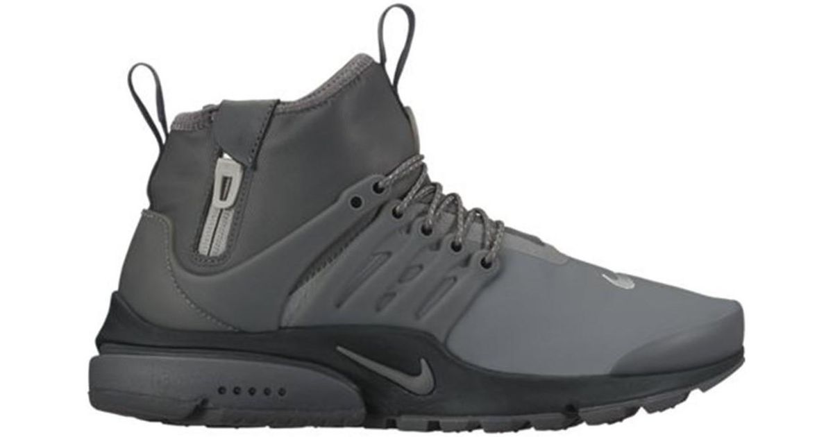 Nike Air Presto Utility Midtop Women s Shoes (high-top Trainers) In Black  in Black - Save 27% - Lyst 0050e1e78