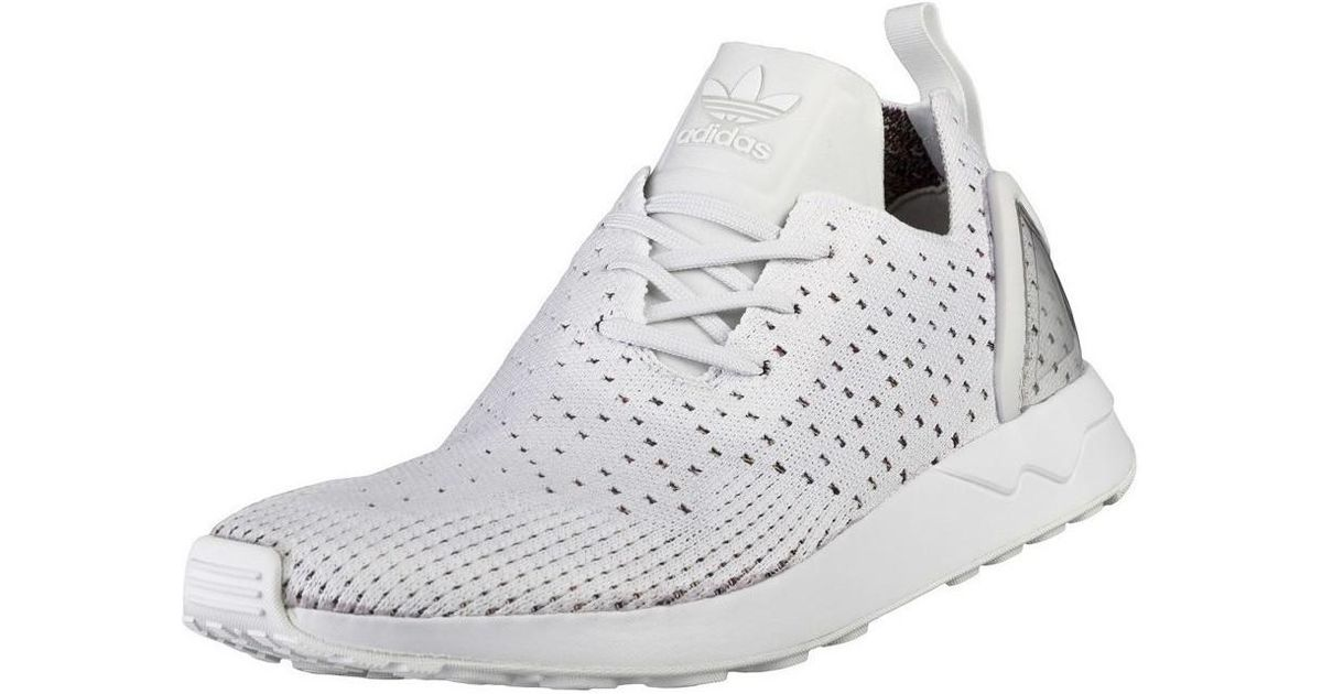 Adidas Zx Flux Adv Asym Pk Men's Shoes (trainers) In White for Men Lyst