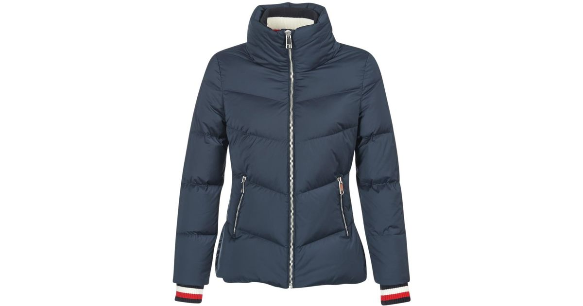 1a50e9a37e4c Tommy Hilfiger Callie Icon Down Jkt Women's Jacket In Blue in Blue - Lyst