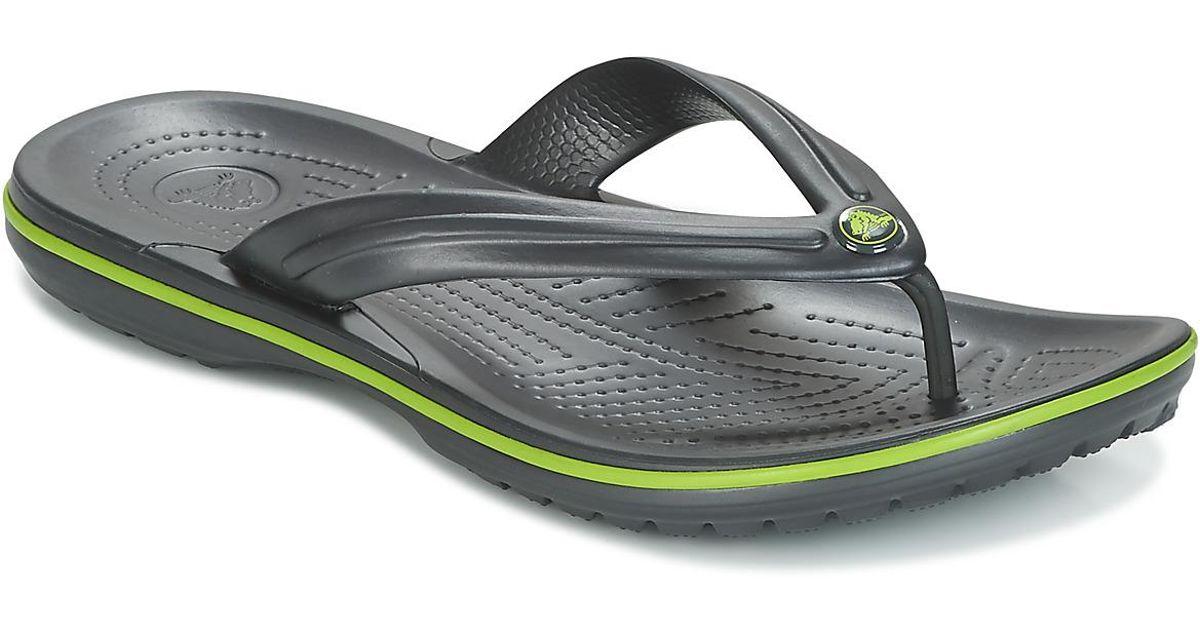 cad08e3dea80 Crocs™ Crocband Flip Men s Flip Flops   Sandals (shoes) In Black in Black  for Men - Lyst