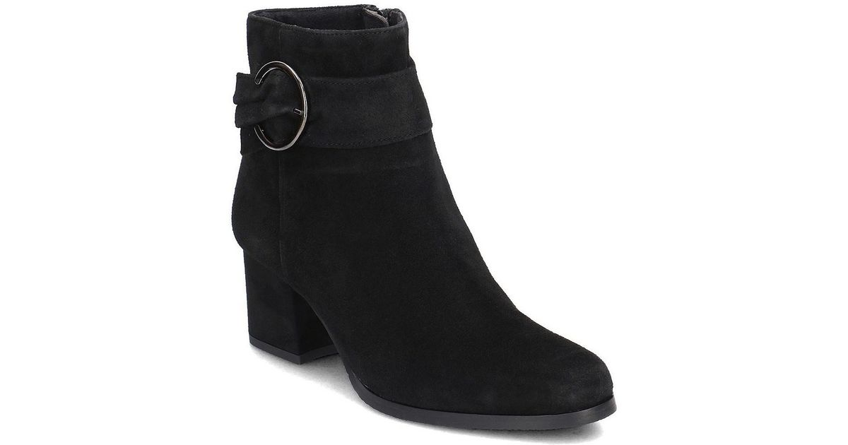 In Low Boots Black Black 12537921 Lyst Tamaris Ankle Women's in AwXT6Cq