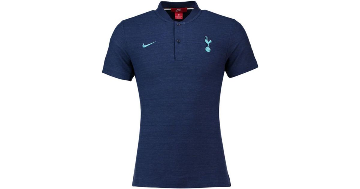 Nike 2018-2019 Tottenham Authentic Grand Slam Polo Shirt Men s Polo Shirt  In Blue in Blue for Men - Lyst 12df18734
