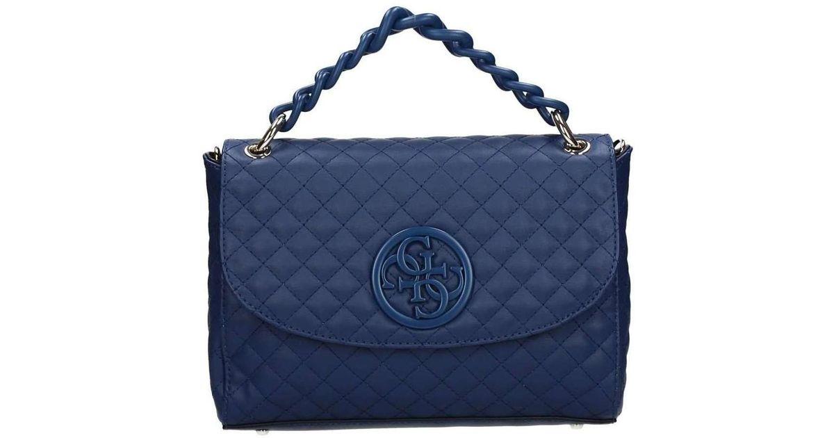 c0623ef1d605 Guess Hwvn66 23210 Shoulder Bag Women S Handbags In Blue Lyst