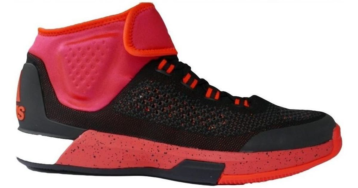 1bcb1edf6109 Adidas Crazylight Boost Primeknit Men s Basketball Trainers (shoes) In Red  in Red for Men - Lyst