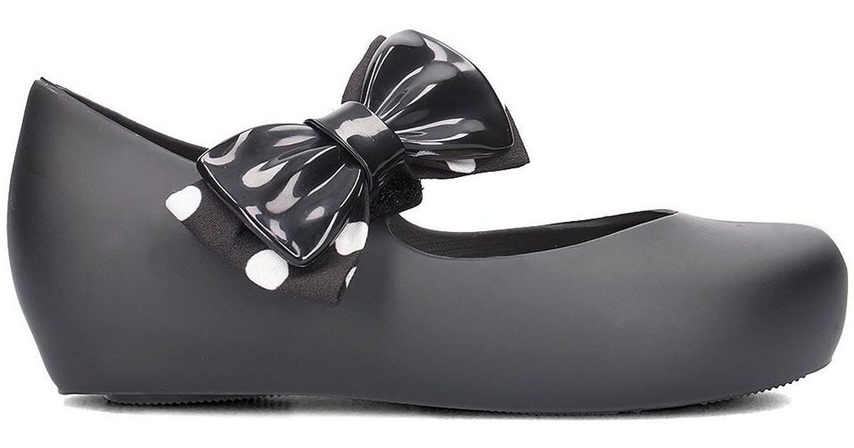 64dfe2682eb3 Melissa Ultragirl Minnie Boys s Children s Shoes (pumps   Plimsolls) In  Black in Black - Lyst
