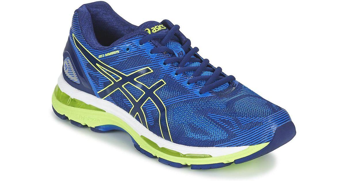 huge discount a8851 06467 Asics - Gel-nimbus 19 Men's Running Trainers In Blue for Men - Lyst