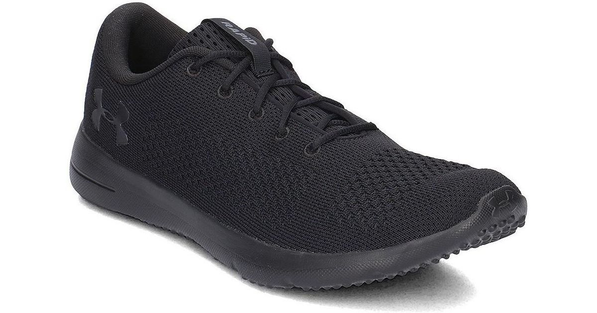 baef3e8b353649 Under Armour Ua Rapid Men's Shoes (trainers) In Black in Black for Men -  Lyst