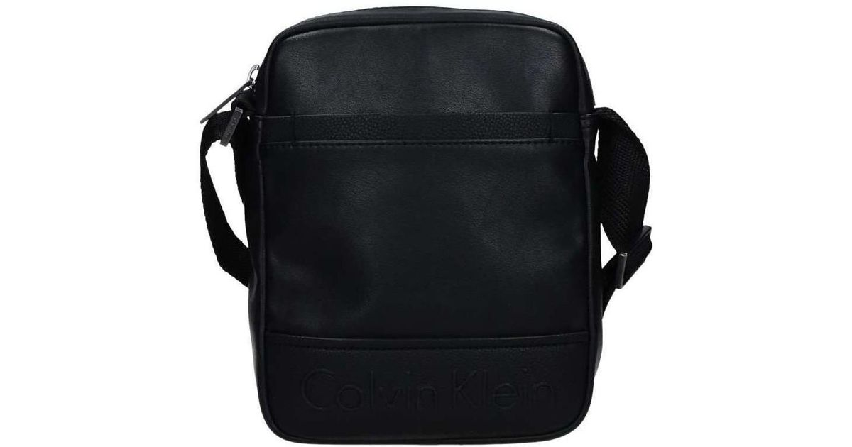 a9fa47e6c087 Calvin Klein K50k503278 Cross Body Bag Men s Messenger Bag In Black in  Black for Men - Lyst