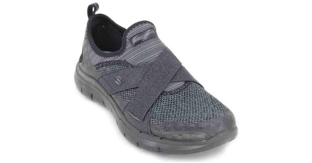 fa8cb52ed310 Skechers Flex Appeal 2.0 New Image 12752 Women s Shoes (trainers) In Black  in Black - Lyst
