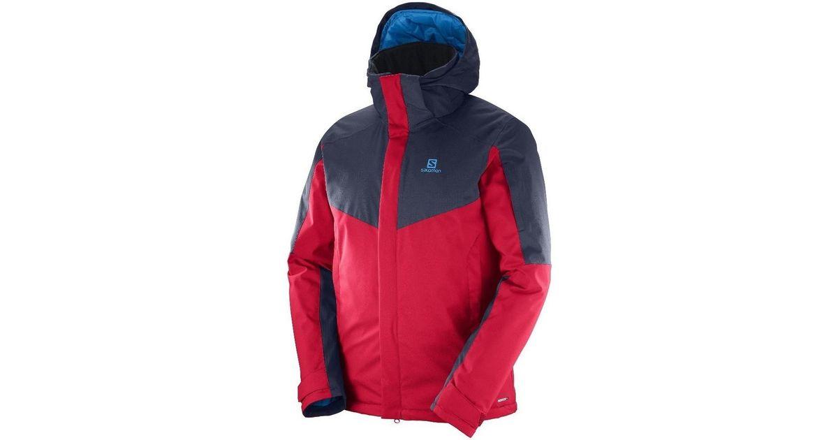 34bff75ef6b0 Yves Salomon Stormseeker Jkt M Men s Jacket In Red in Red for Men - Lyst