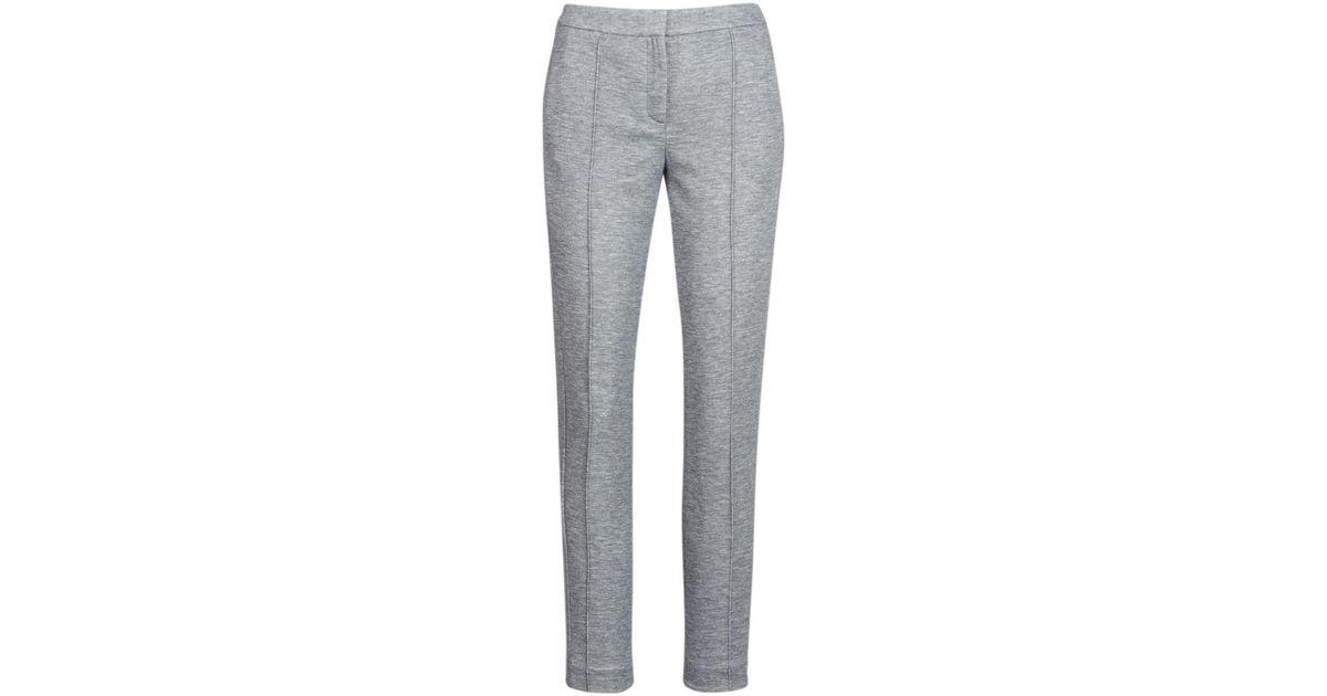 Tommy Hilfiger Bjork T2 Pant Women s Trousers In Grey in Gray - Lyst e5d2b91516