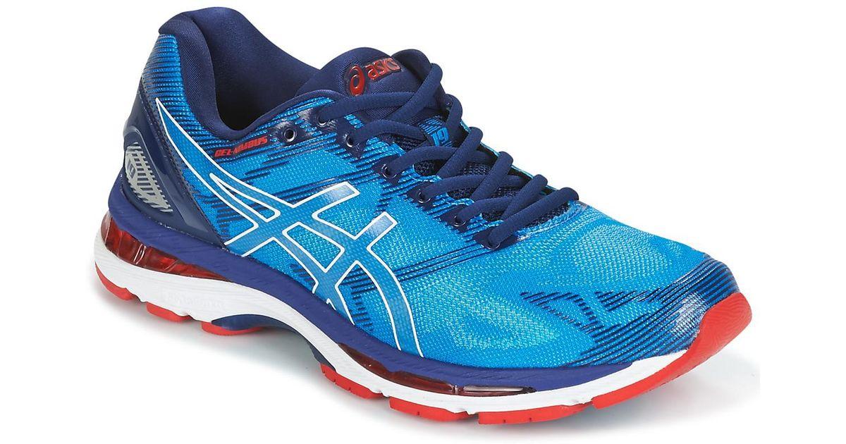 huge discount dbd5d 5cd42 Asics - Gel-nimbus 19 Men's Running Trainers In Blue for Men - Lyst