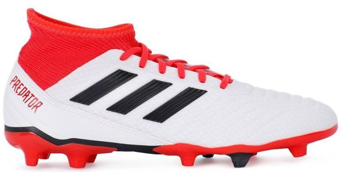 4adcf8acc adidas Predator 183 Fg Men's Football Boots In Red in Red for Men - Lyst