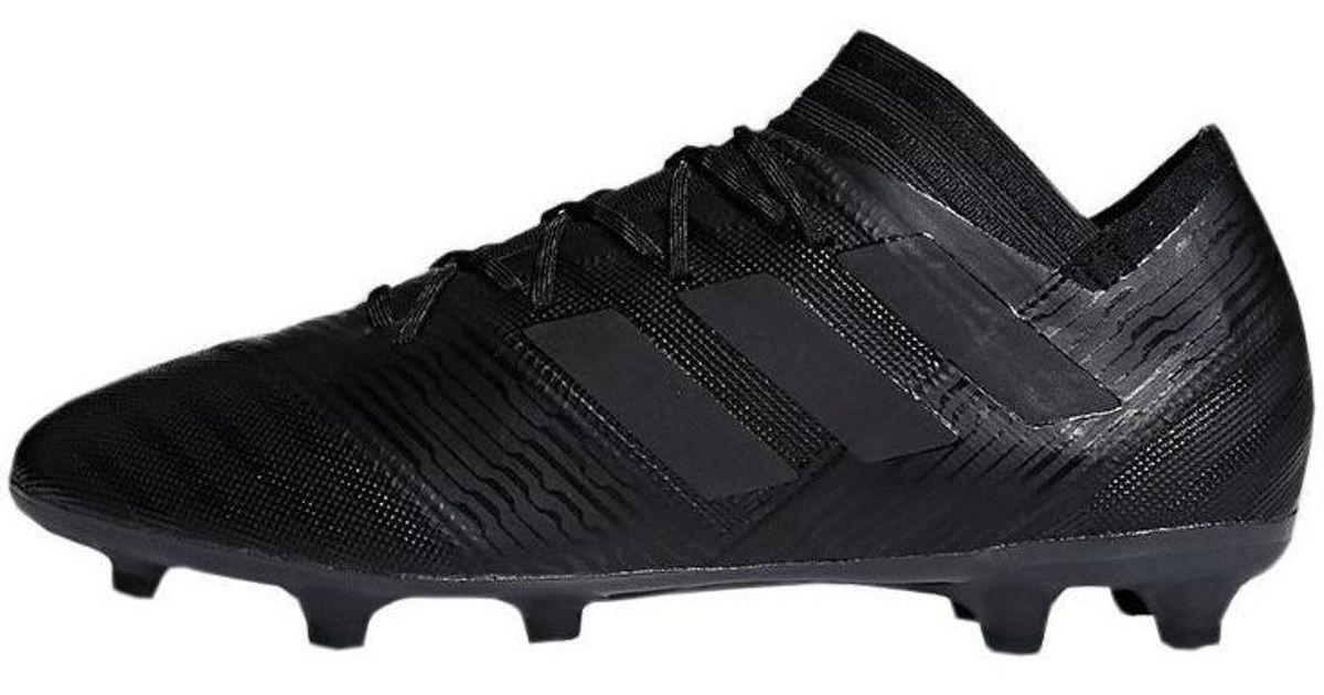 buy popular 2570a fed03 adidas Nemeziz 172 Fg Men s Football Boots In Black in Black for Men - Lyst