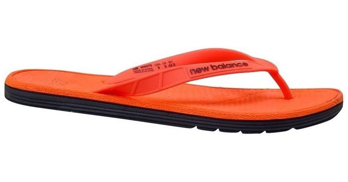 9c048bc65aa90f New Balance Pro Thong Men s Flip Flops   Sandals (shoes) In Black in Black  for Men - Lyst