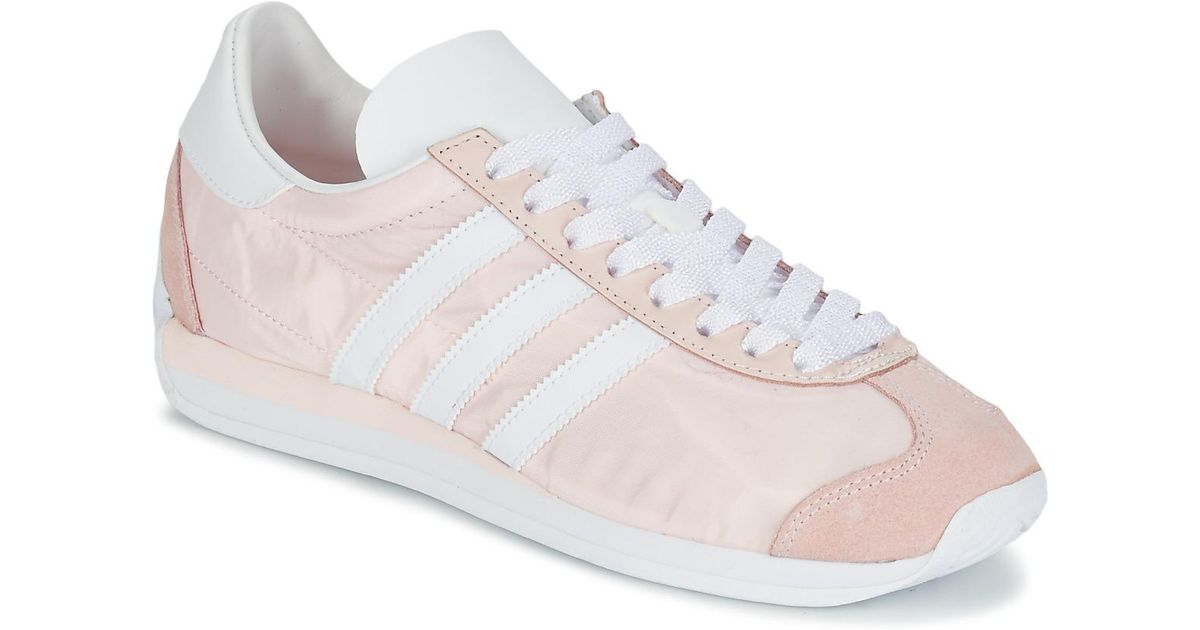 47b3d70729d008 adidas Country Og W Women s Shoes (trainers) In Pink in Pink - Lyst